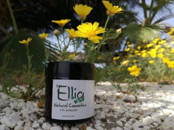 24h Protector olive oil cream 4 - Ellia Natural Cosmetics - Cyprus Europe