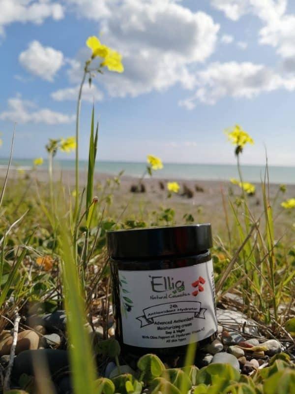 24h Antioxidant Hydrator - moisturizer with olive oil 4 - Ellia Natural Cosmetics - Cyprus Europe