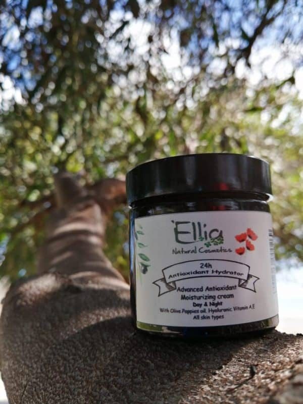 24h Antioxidant Hydrator - moisturizer with olive oil 3 - Ellia Natural Cosmetics - Cyprus Europe