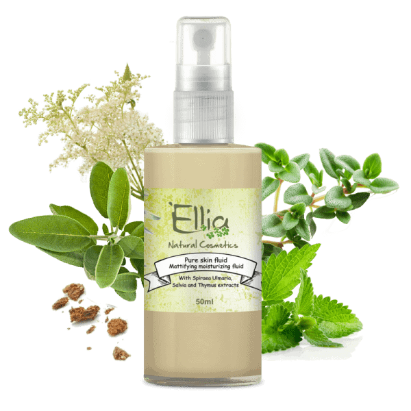 PURE SKIN FLUID - Olive Oil fluid 1 - Ellia Natural Cosmetics - Cyprus Europe