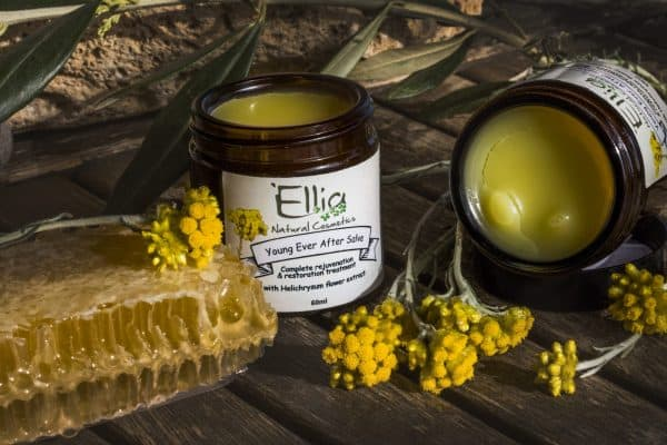 Young Ever After salve - Anti aging balm 2 - Ellia Natural Cosmetics - Cyprus Europe
