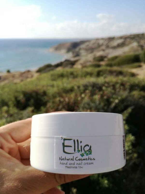 Hand cream with olive oil 1 - Ellia Natural Cosmetics - Cyprus Europe