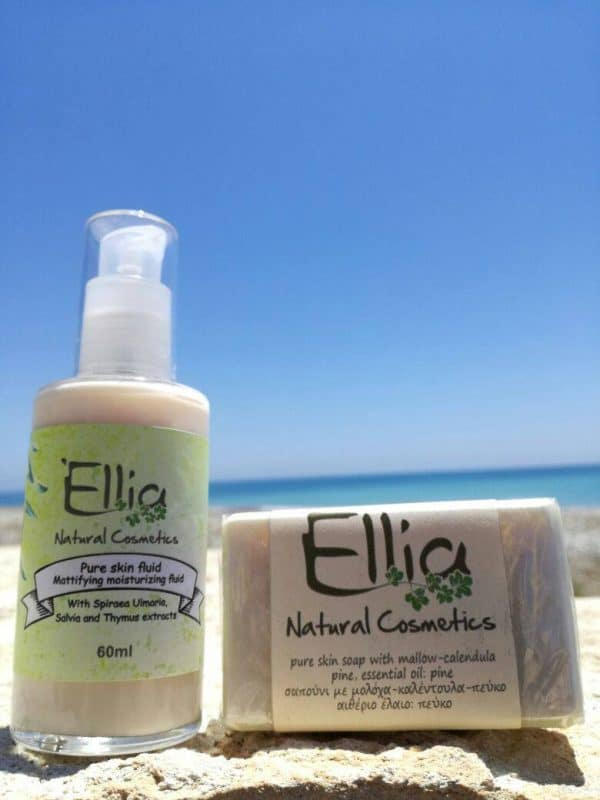 PURE SKIN FLUID - Olive Oil fluid 4 - Ellia Natural Cosmetics - Cyprus Europe