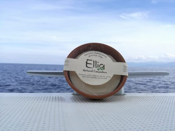 SHAVING SOAP with olive oil 4 - Ellia Natural Cosmetics - Cyprus Europe