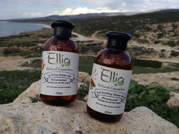 Shower gel with olive oil 3 - Ellia Natural Cosmetics - Cyprus Europe