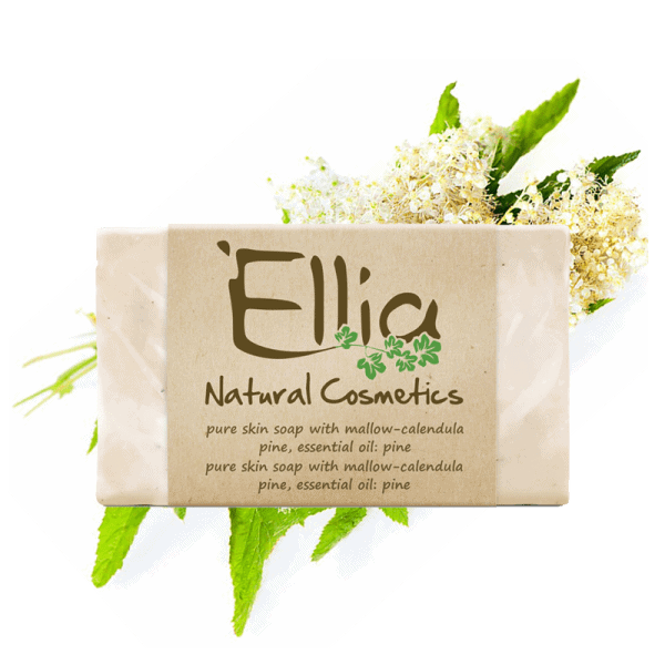 OLIVE OIL SOAPS 120gr 1 - Ellia Natural Cosmetics - Cyprus Europe