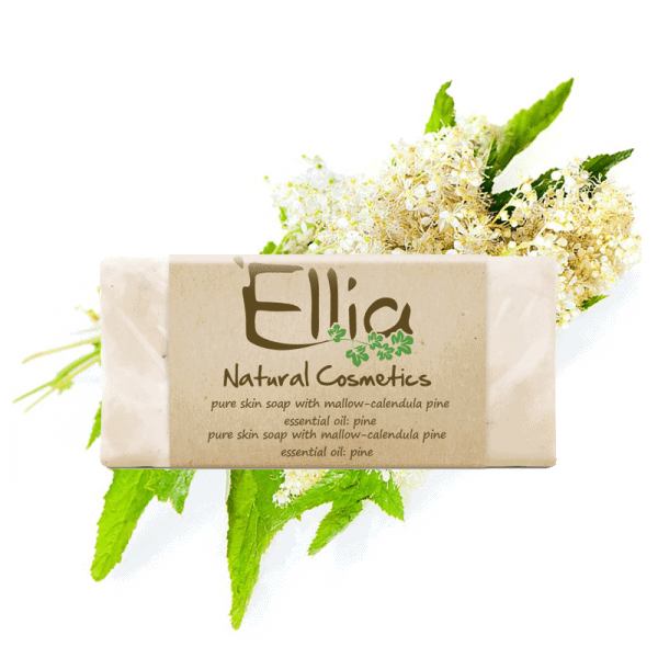 OLIVE OIL SOAPS 60gr 1 - Ellia Natural Cosmetics - Cyprus Europe