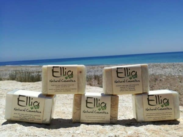OLIVE OIL SOAPS 60gr 3 - Ellia Natural Cosmetics - Cyprus Europe