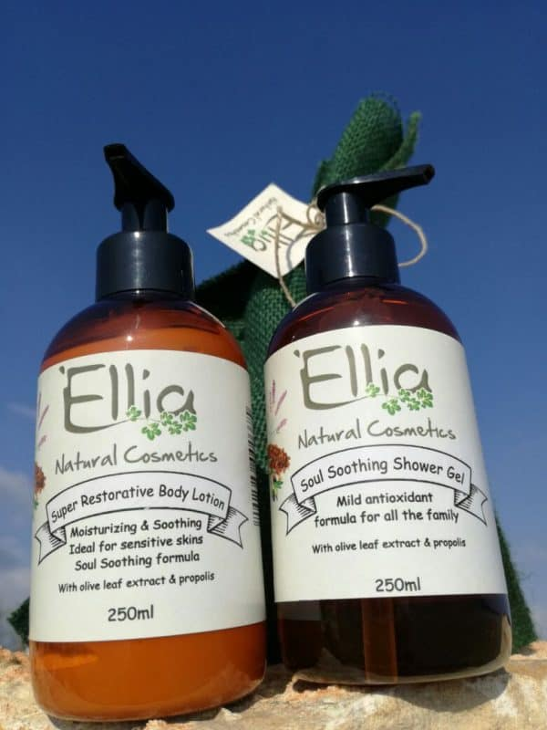 Super restorative body lotion with olive oil 3 - Ellia Natural Cosmetics - Cyprus Europe